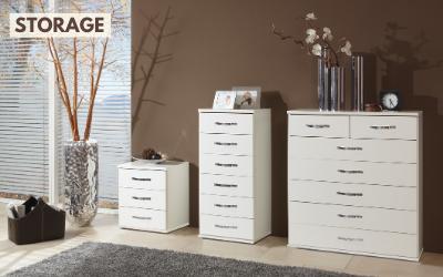 Affordable modern storage by Tesoro Direct
