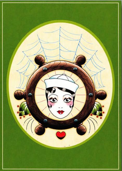 Angelique Houtkamp Greeting Card - Sailor