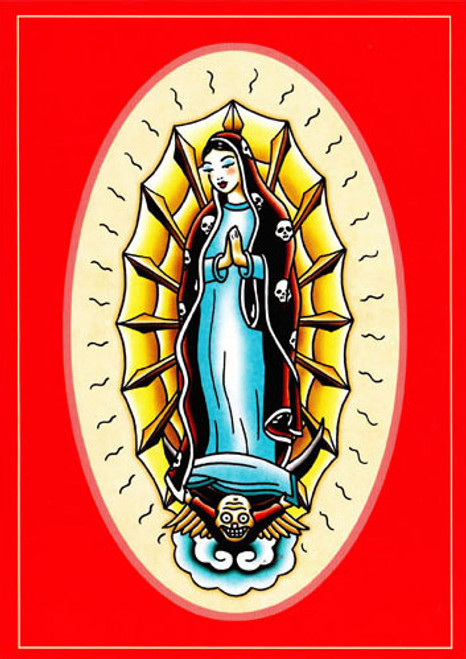 Angelique Houtkamp Greeting Card -  Guadalupe