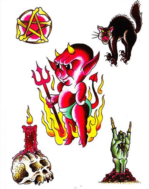 Ryan Wilburn Greeting Card - The Devil Made Me...