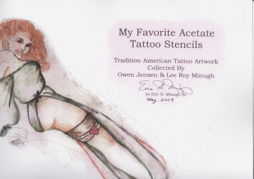 My Favorite Acetate Tattoo Stencils, Vol I