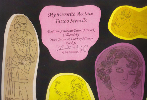 My Favorite Acetate Tattoo Stencils, Vol II