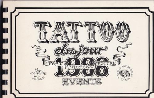 Tattoo du Jour 1988 Events