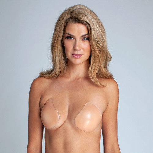 Lift It Up Backless Strapless Plunge Stick On Bra
