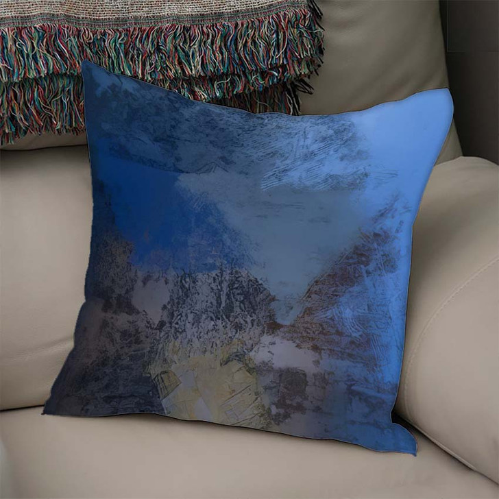 2D Illustration Artistic Background Image Abstract 1 1 - Abstract Art Linen Pillow