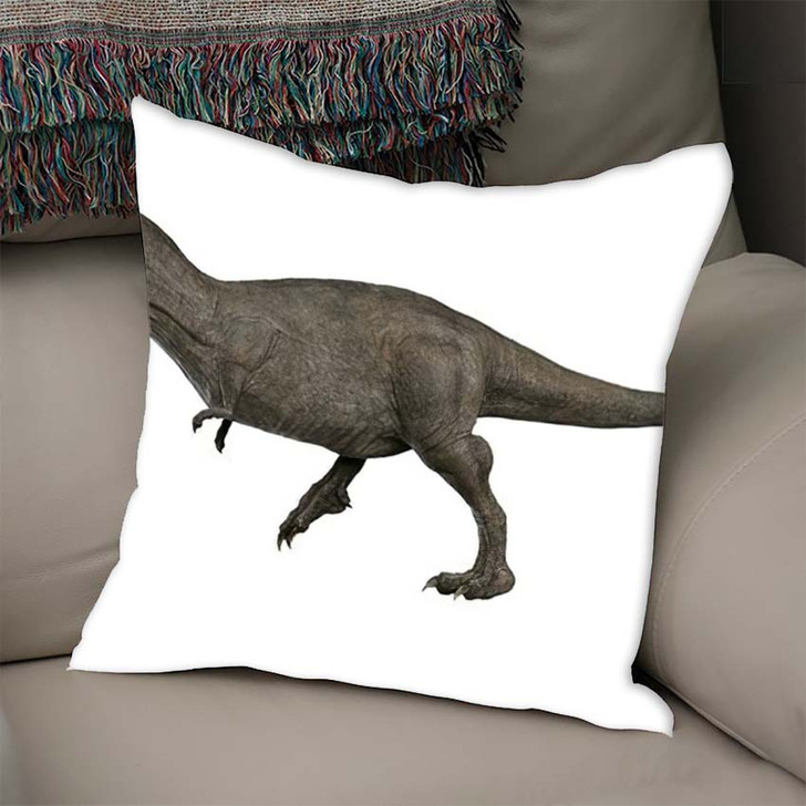 3D Rendered Trex Tyrannosaurus Rex 11 - Godzilla Animals Linen Pillow