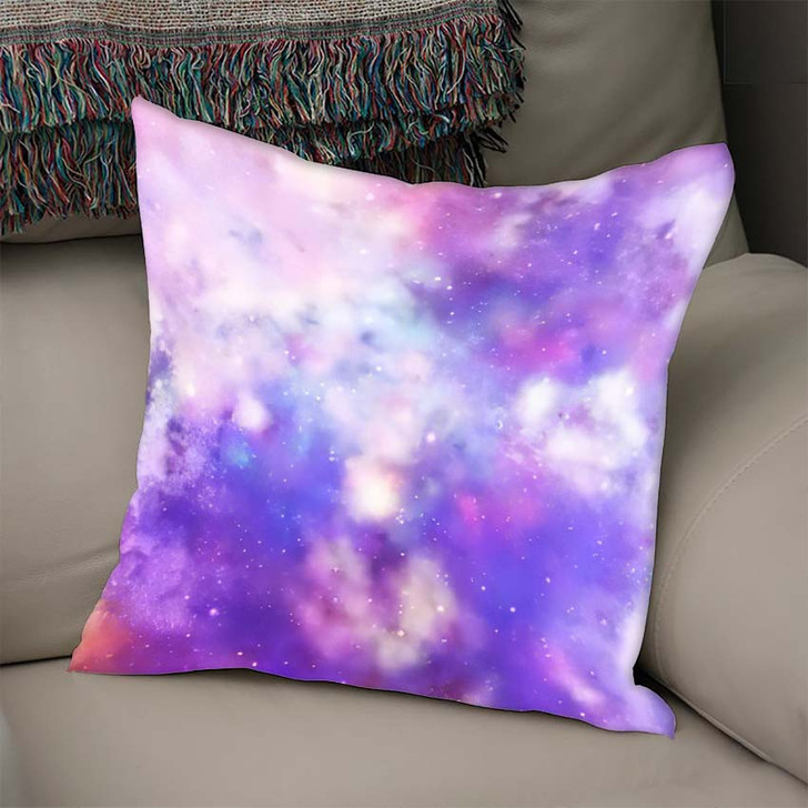 3D Rendering Galaxy Space Beauty Universe 4 - Galaxy Sky and Space Linen Pillow