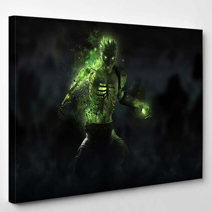 3D Render Zombie Necromancer Character - Fantasy Canvas Wall Art