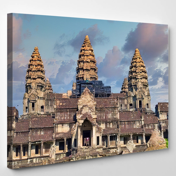 1022020 Thailand Cambodia View Popular Tourist - Landmarks and Monuments Canvas Wall Art