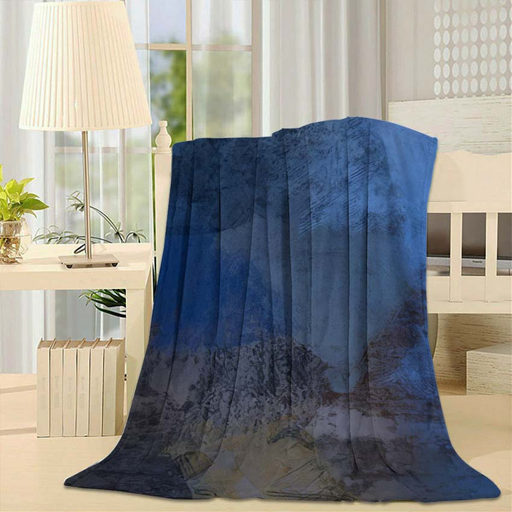 2D Illustration Artistic Background Image Abstract 1 1 - Abstract Art Fleece Blanket