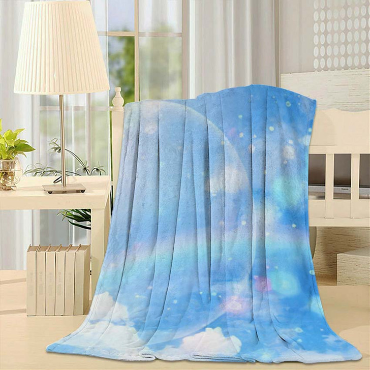 3D Illustration Fantastic Sky 2 - Galaxy Sky and Space Fleece Blanket