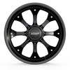 6 Lug BMF Payback Black and Milled Trucks Wheels for Ford, Chevy, Ram, and Toyota Trucks and SUVs.