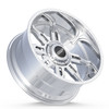 BMF Wheels Roulette Truck Wheel in Polished Finish for Ford, Chevy, GMC, and Ram Trucks and SUVs.