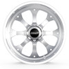 BMF Wheels Payback truck wheel in polished finish for Ford, Chevy, GMC, Ram, Nissan, and Toyota Trucks and SUVs.