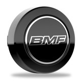 BMF 8-lug tall center caps. For wheels with 125mm hub bore.