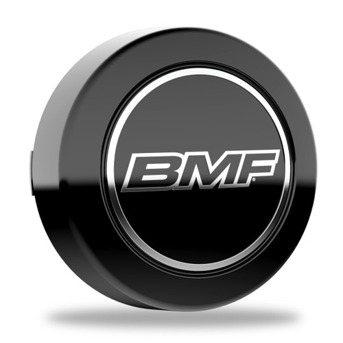 BMF 6 Lug Center Caps. For wheels with 87mm hub bores.