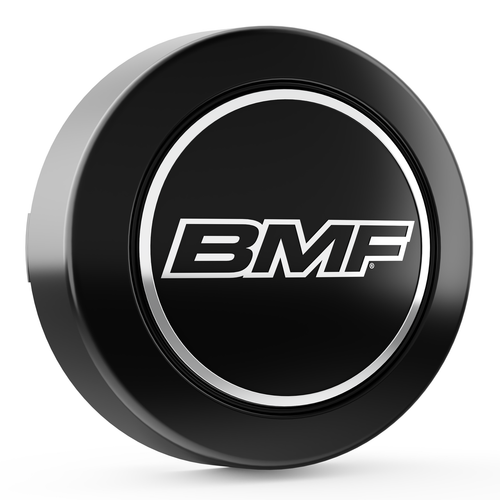 Matte Black Center Cap for 8 Lug BMF Wheels.