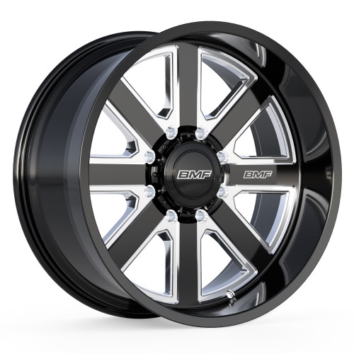 8 Lug BMF Hustle Truck Wheels for Ford, Chevy, GMC, and Ram Trucks and SUVs.