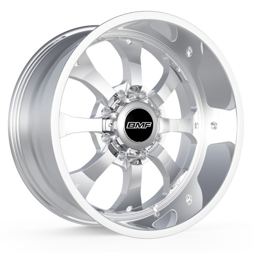BMF Wheels Payback Truck Wheel for Ford, Chevy, GMC, and Ram Trucks and SUVs. Shown in polished finish.