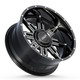 BMF Roulette Truck Wheels for Ford, Chevy, GMC, and Ram Trucks and SUVs.