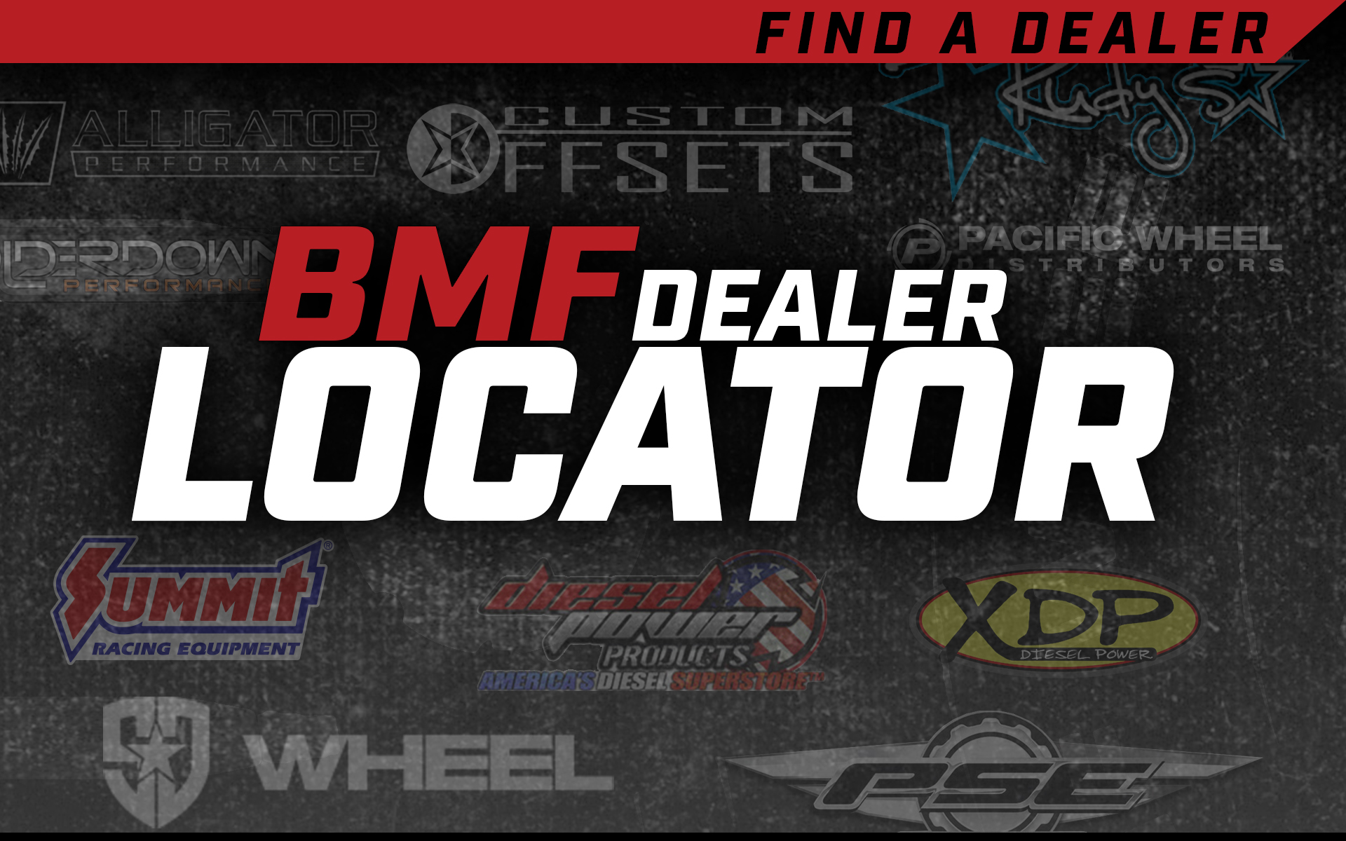 Locate a BMF Wheels Dealer