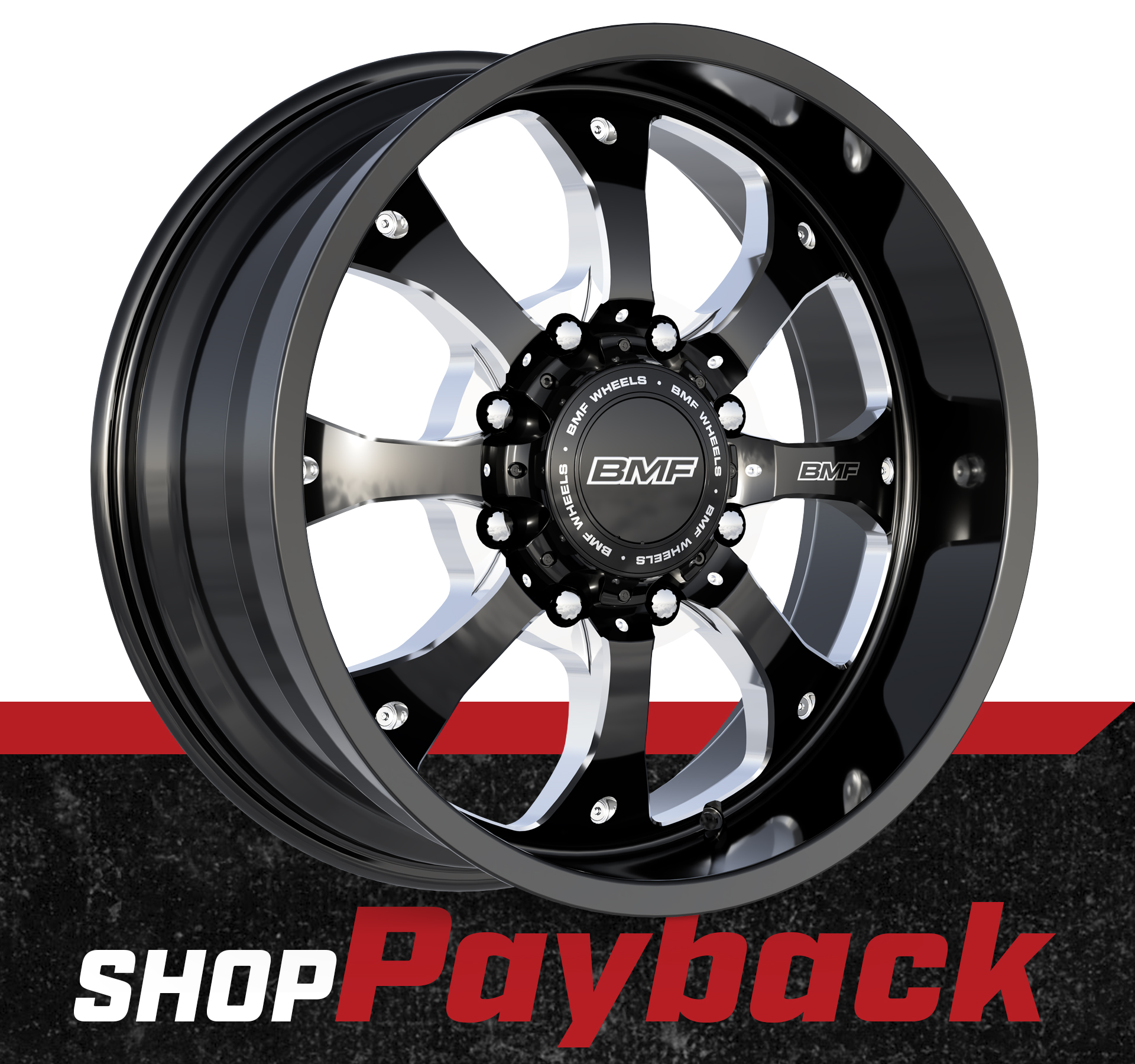 Shop BMF Payback Truck Wheels