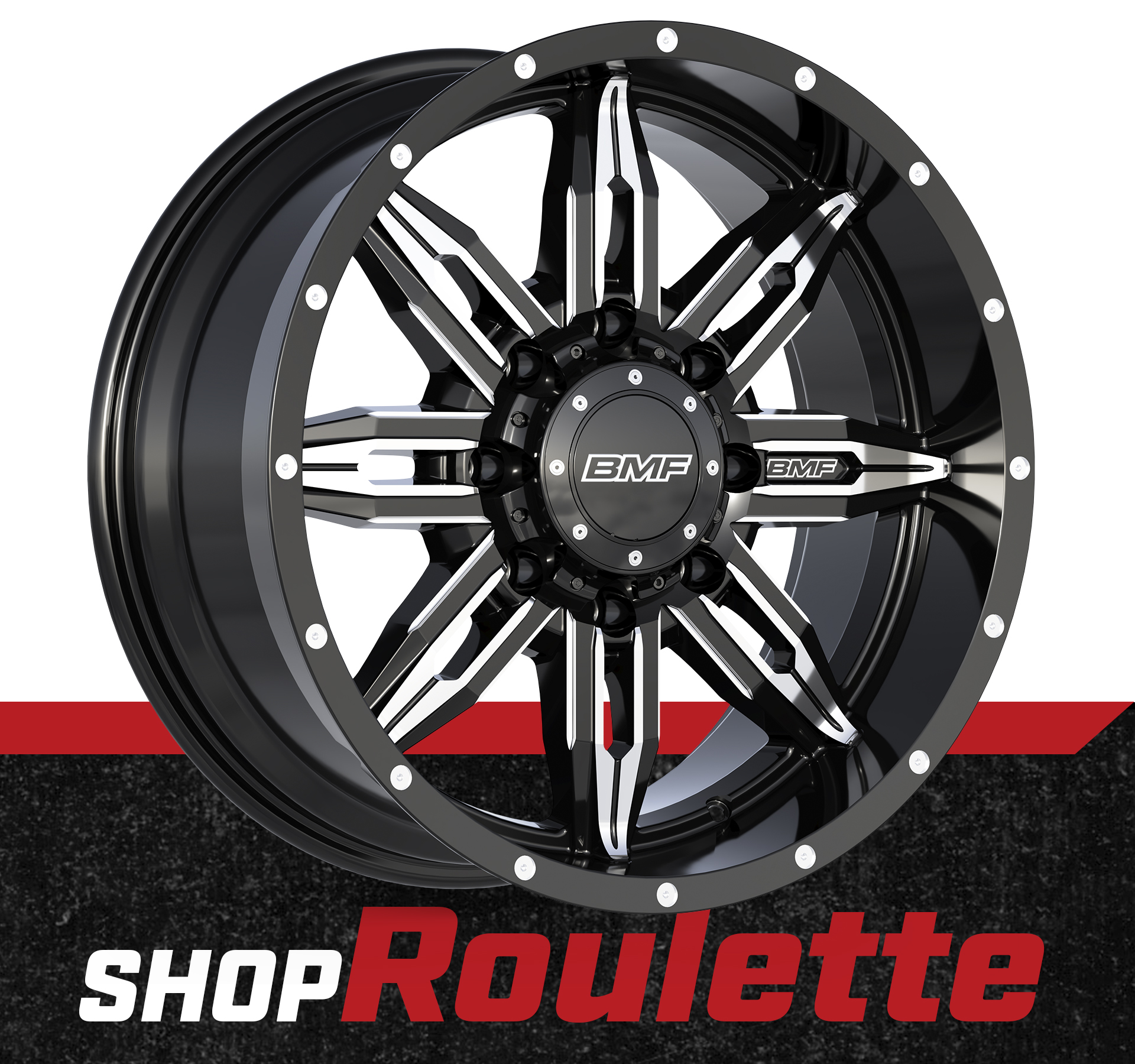 Shop BMF Roulette Truck Wheels