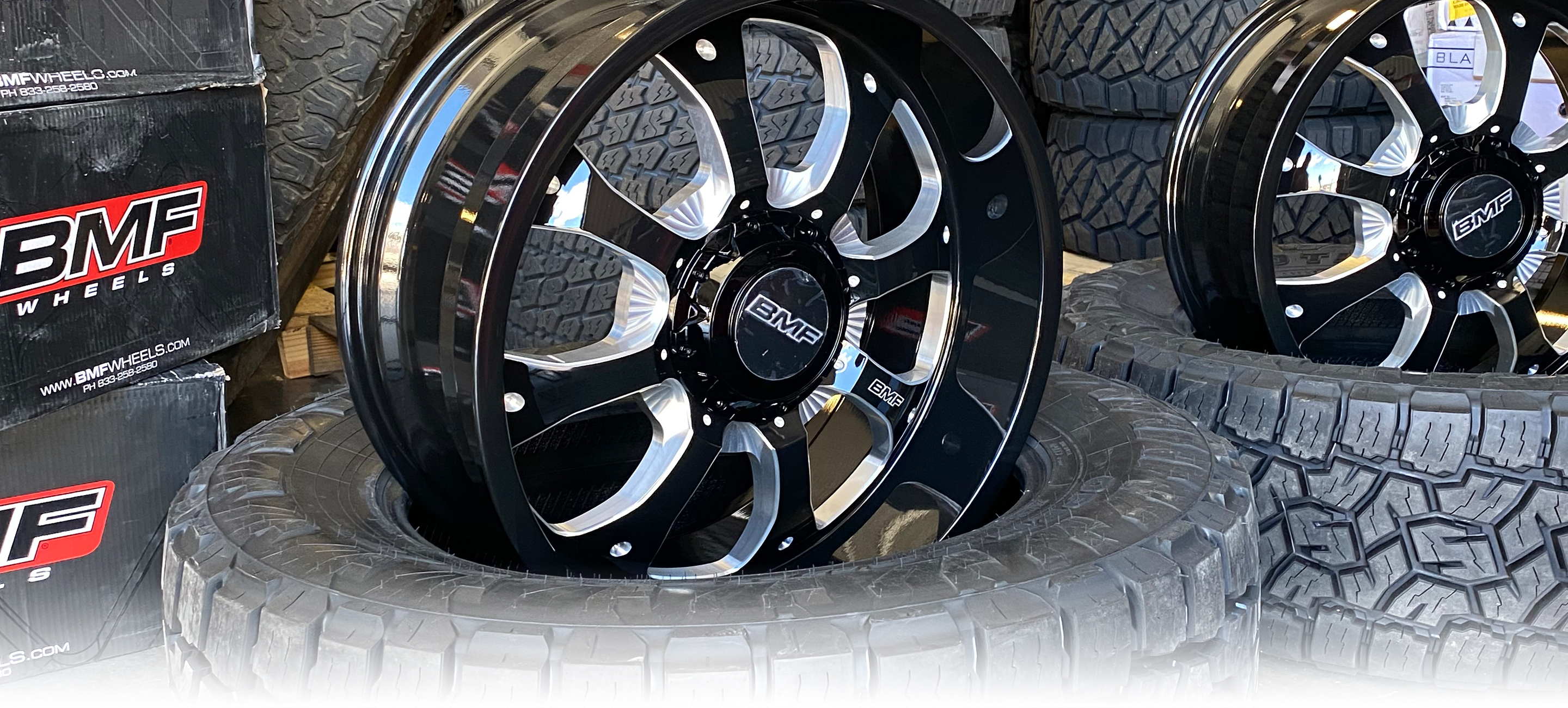 BMF Payback-6 Truck Wheels are available for most trucks and SUVs in 20x9, 20x10, 22x10.5 wheel sizes.