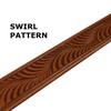 Summit Leather Belt - Swirl
