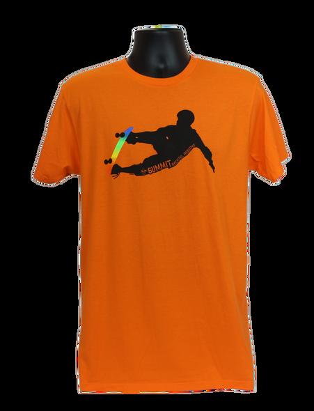 Orange Skater Tee