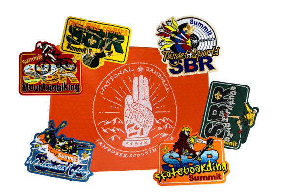 SBR Patch Set + Patch Pouch