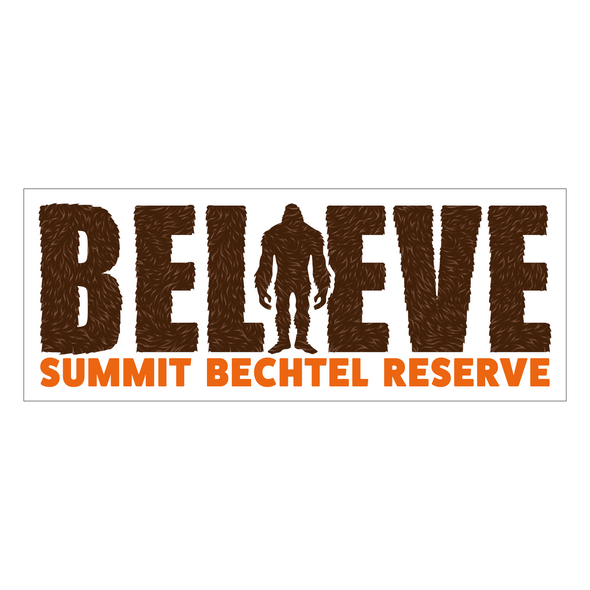 Believe Sasquatch Sticker