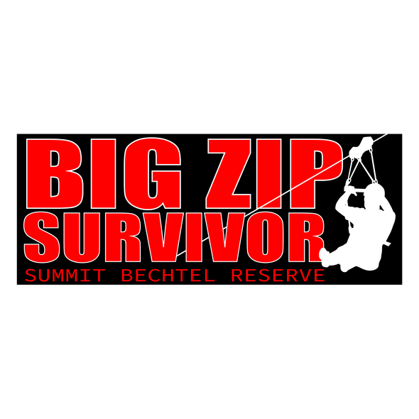 Big Zip Survivor Sticker
