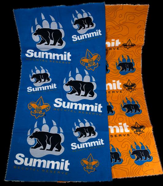 Wear the Bear Buff in Blue and Orange