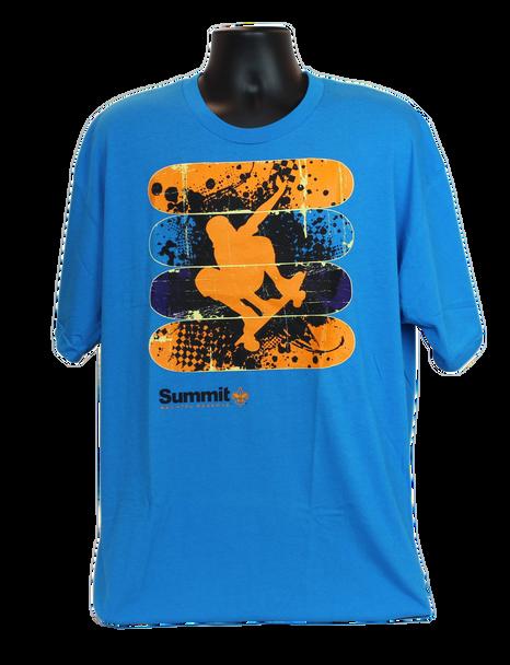 2XL Turquoise Skater Tee