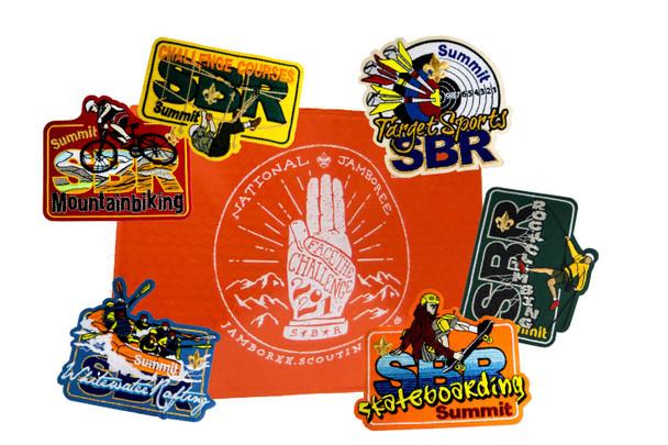 SBR Patch Set + Patch Pouch
