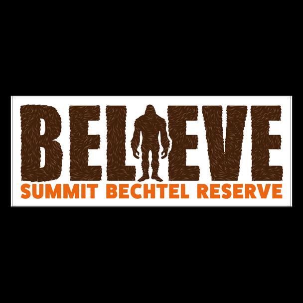 Believe Sasquatch Sticker