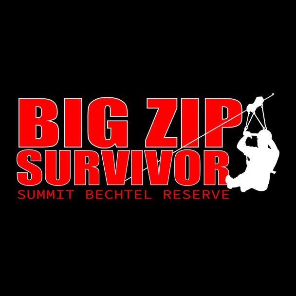 Big Zip Survivor Sticker