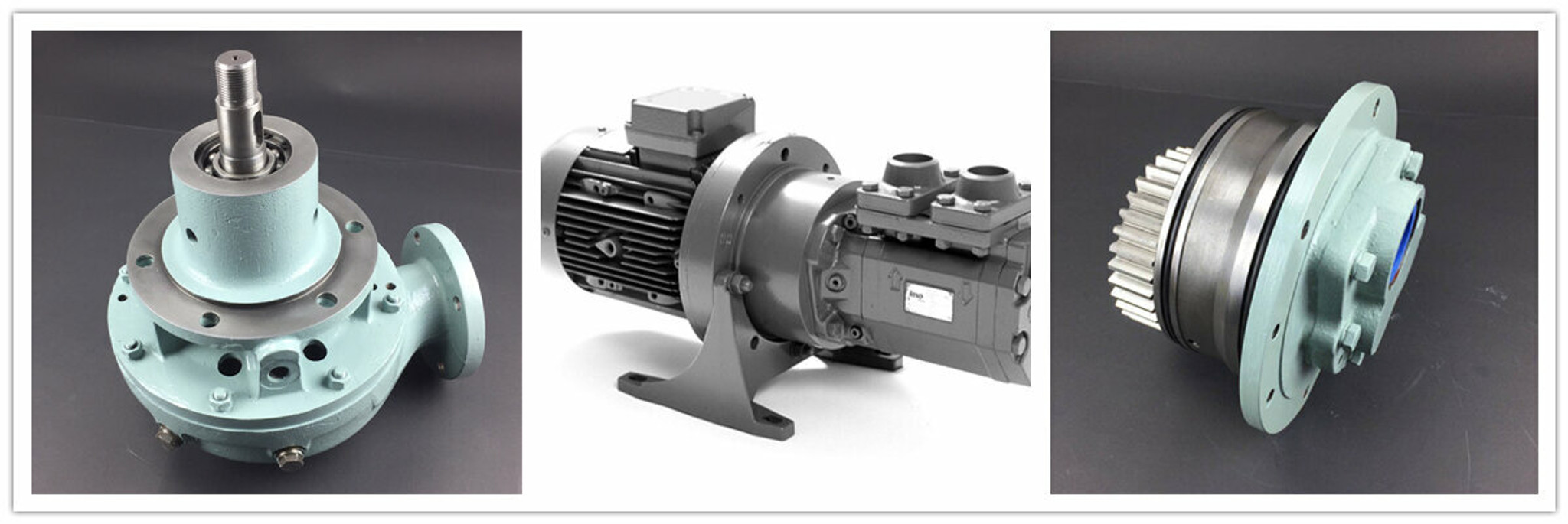 OIL PUMP AND WATER PUMPS