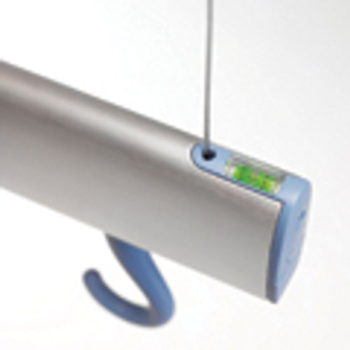 Trackrack is modern, contemporary and unique. Made from extruded anodised aluminium with the somewhat 'quirky' feature of a hidden spirit level to ensure accurate fixing