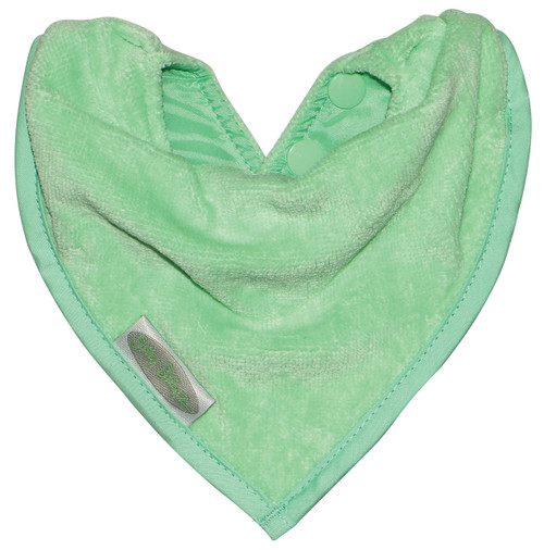 These functional and fabulous bandana bibs have a waterproof backing to keep your little one clean and dry from dribbles and spills.