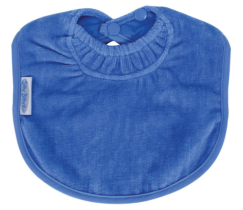 This nifty Biblet is sized just right to be your baby's first bib!