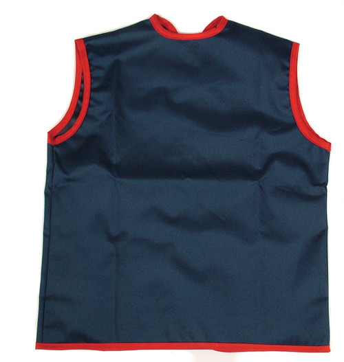 Made from nylon fabric, these aprons are waterproof and machine washable or just wipe them clean with a damp cloth.