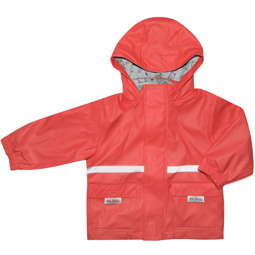 `- Elastic cuffs and combined zip and Velcro closure to keep wind and water out. - 2 easy access pockets on the front to keep little treasures safe. - Reflective striping for added visibility and safety.