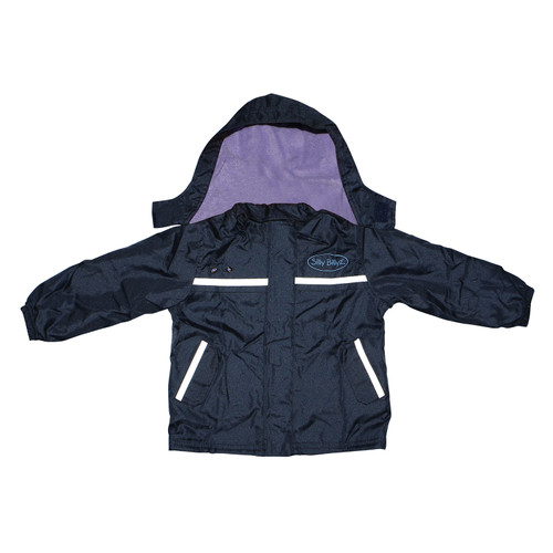 Waterproof Jacket Lilac/Navy Small