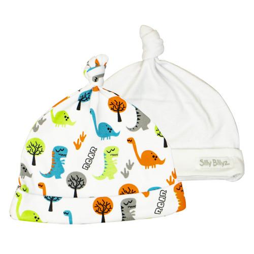 Roar Gumnut Baby Hat 2pk