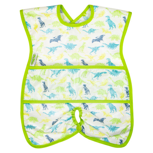 Dino Wipe Clean Highchair Hugger Bib