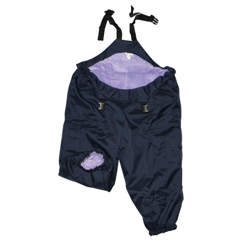 Waterproof Overalls Lilac/Navy X-Large