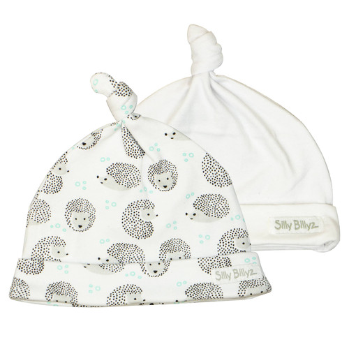 Hedgehog Gumnut Baby Hat 2pk