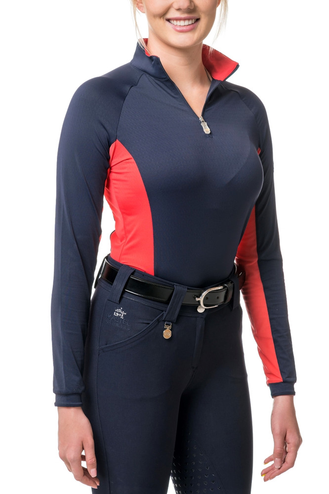 Navy with Red Champion Collection Colorblock